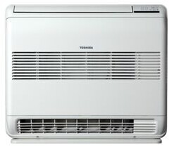 Toshiba Bi Flow Floor Console 2.4kw cooling, 3.2kw heating