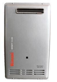 Rinnai INFINITY® HD200 External Continuous Flow Gas Hot Water Heater