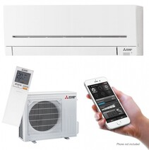 Mitsubishi AP25VKGD EcoCore Hi Wall Air Conditioner 3.2Kw Heating / 2.5kw Cooling