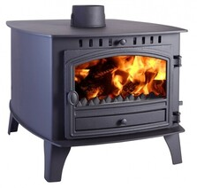 Hunter Stoves Herald 8 Bespoke Double  Sided